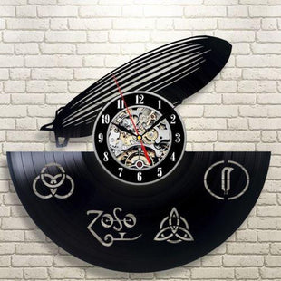 Led Zeppelin Vinyl Wall Clock