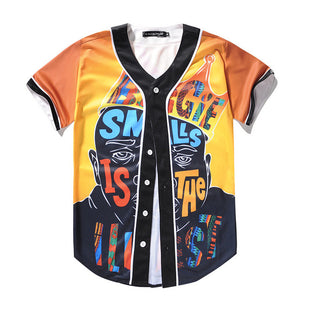 Biggie Smalls Baseball Shirt
