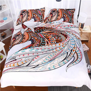 Boho Tribal Horse Bed Set