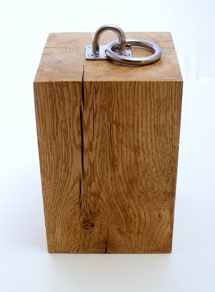 Solid Oak Doorstop