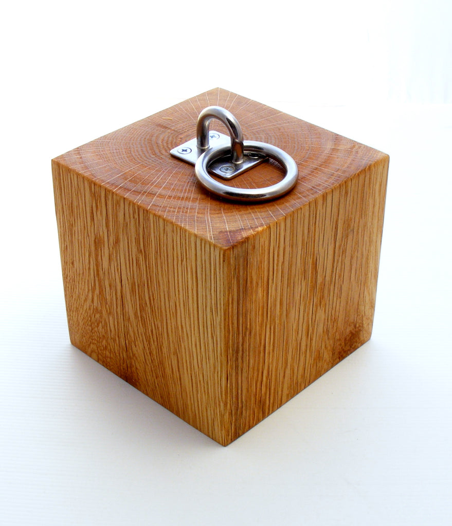 Solid Oak Doorstop - Small
