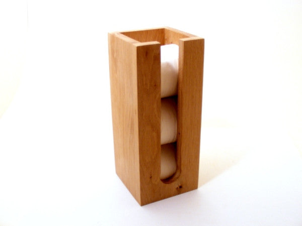 Oak Toilet Roll Holder - Panga Design