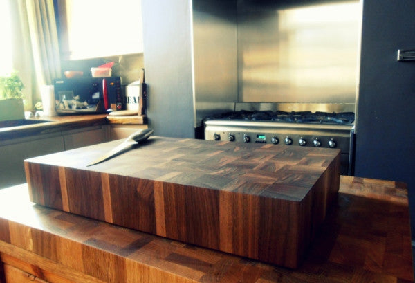 American Black Walnut Butchers Block - Panga Design