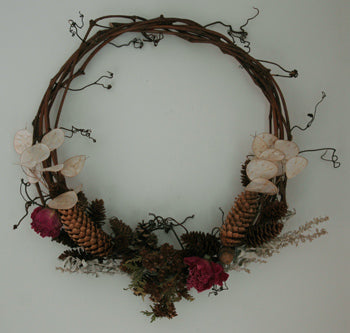 Fireflys Grapevine Wreath