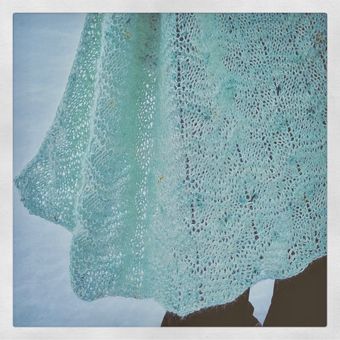 Aurora Shawl Knitting Pattern DIGITAL DOWNLOAD