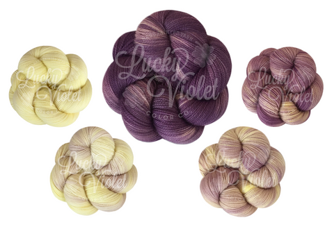 Visions of Sugar Plums 5-Color Palette - Ready to Ship