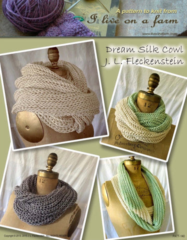 Knitting Pattern Dream Cowl DIGITAL DOWNLOAD