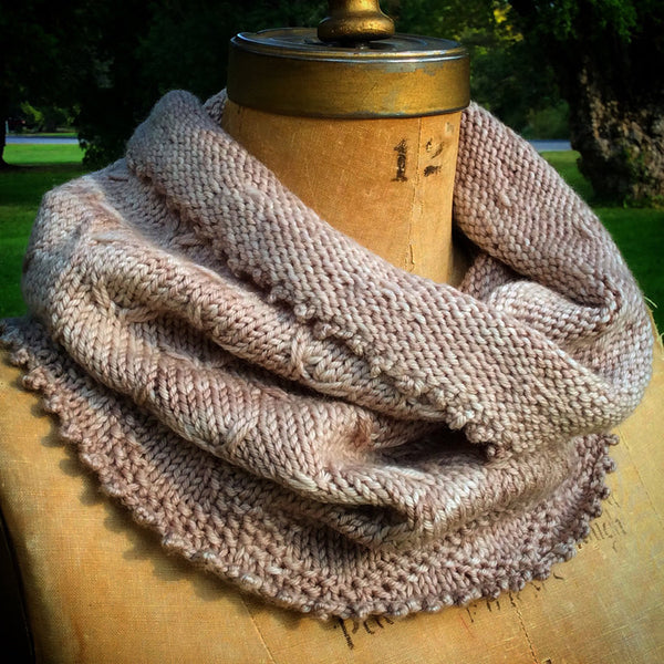 Knitting Pattern Chunky Cowl Snood DIGITAL DOWNLOAD Easy Quick to Knit