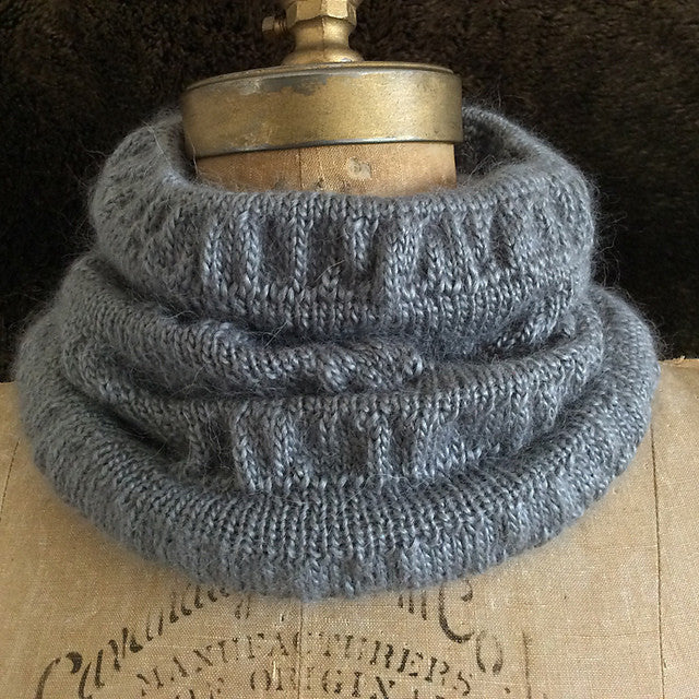 Knitting Pattern Cozy Cowl DIGITAL DOWNLOAD Gift Idea