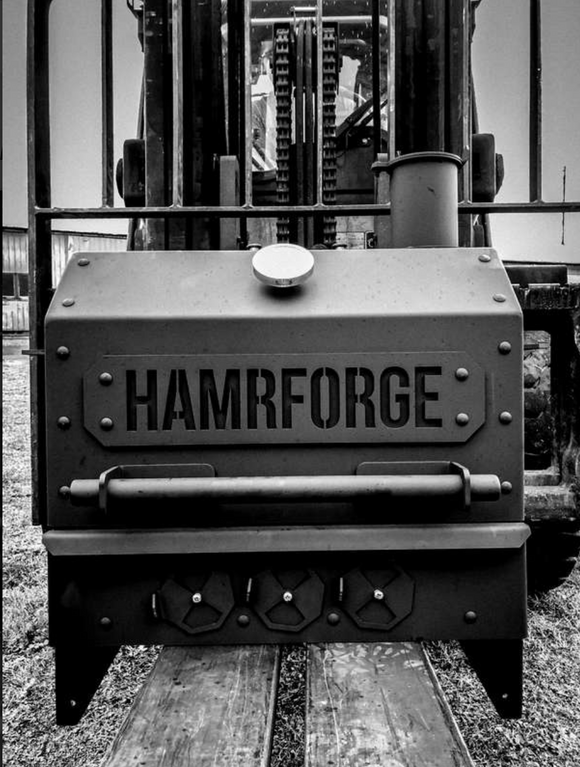 Barbecue Old iron side grill Hamrforge