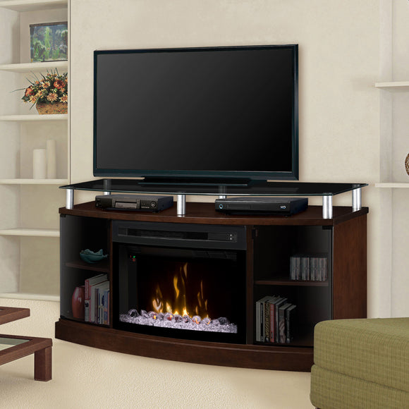 Windham Media Console with Fireplace