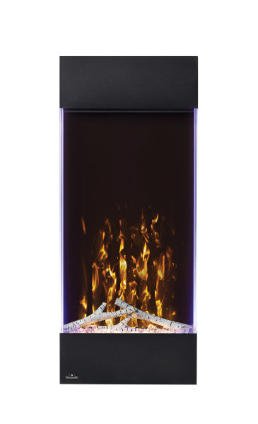 Vertical Wall Hanging Electric Fireplace