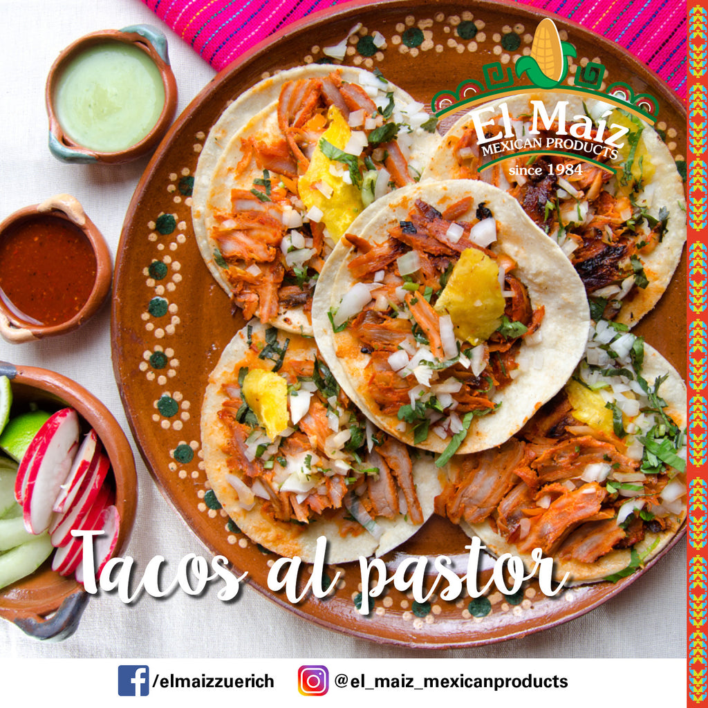 tacos al pastor el maiz mexican products