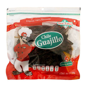Chile Guajillo seco 100 gr Don Zabor
