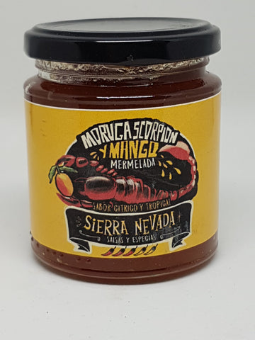 Mermelada Moruga Scorpion y Mango 250 ml