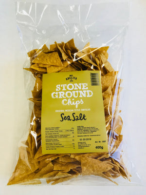 Tortilla Chips al natural 400 gr MI ADELITA