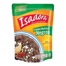 Isadora Frijol negro refrito 400g Pouch