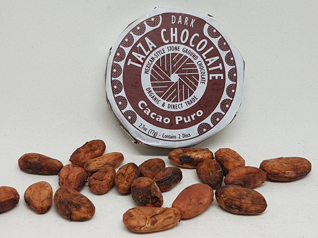 Chocolate Mexicano CACAO PURO  77 gr Taza Chocolate