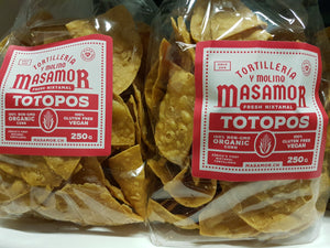 250 gr Chips Tortilla Chips al natural MASAMOR