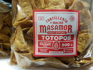 500 gr Chips Tortilla al natural MASAMOR