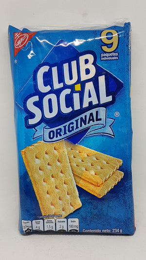 Galletas Saladas 234 gr CLUB SOCIAL NABISCO