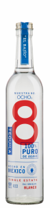 Tequila Blanco - Ocho 500 ml