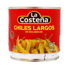 La Costeña chile largo 380g