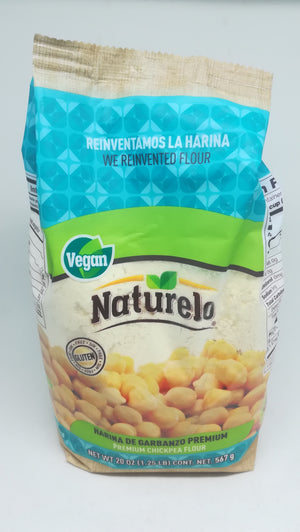Naturelo Harina de Garbanzo 567 g