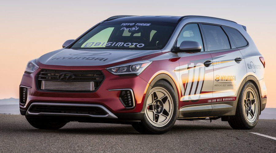 THIS RWD HYUNDAI SANTA-FE BY BISIMOTO HAS MORE POWER THAN A LAFERRARI