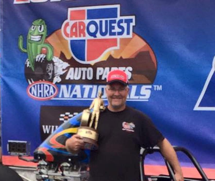 Trevor Ritchie - NHRA Top Dragster