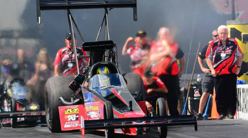 FERRE TOOK THE LONG ROAD TO TOP FUEL