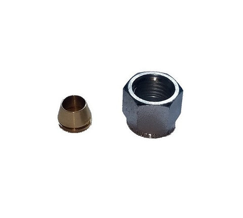"1/4"" THERMOCOUPLE NUT & FERRULE"