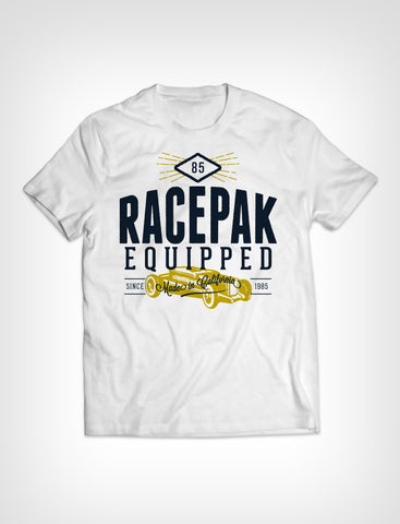 RACEPAK EQUIPPED T-SHIRT WHITE