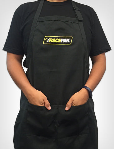 RACEPAK EMBROIDERED LOGO APRON WITH POCKETS