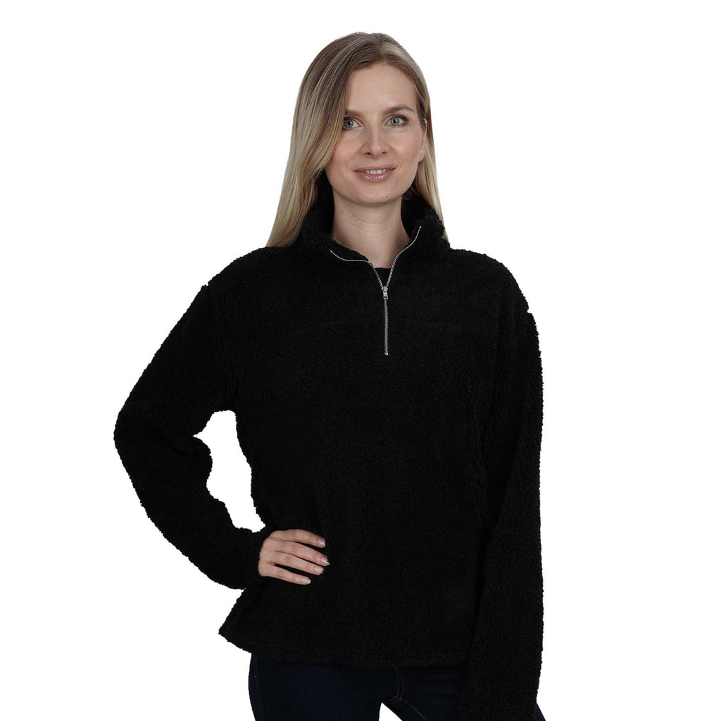 Long Sleeve Mock Neck With Zipper Pullover