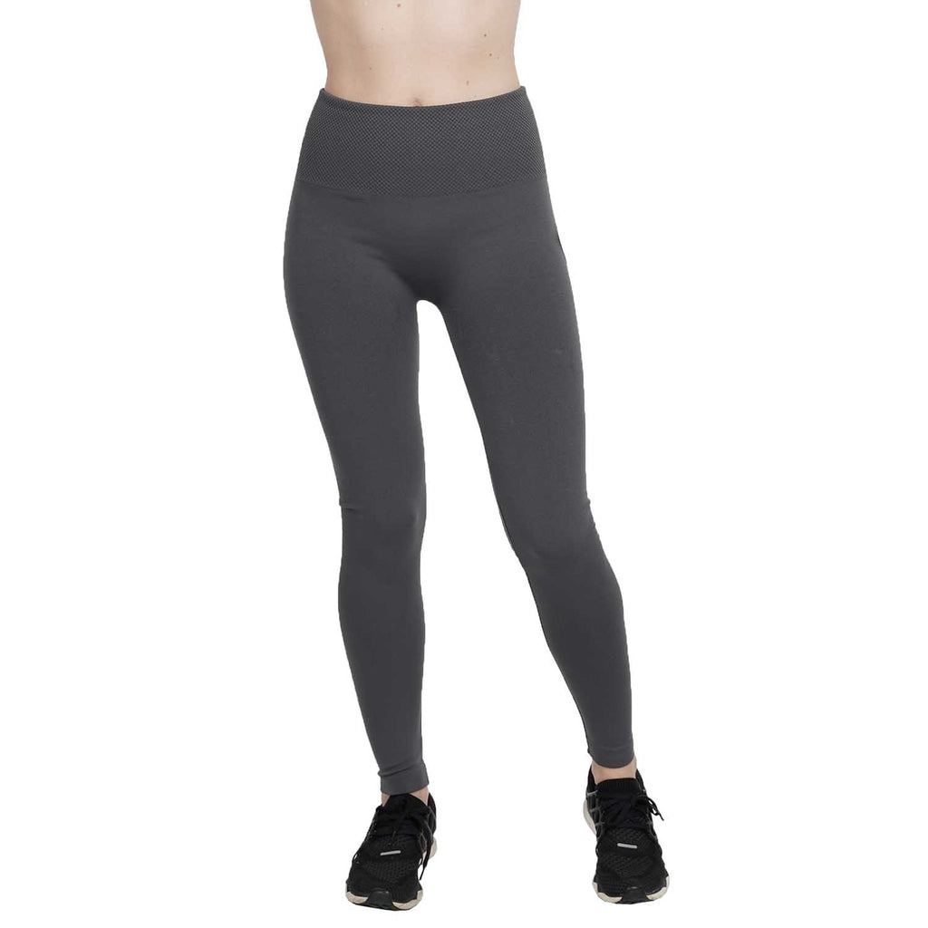 Wide Waffle Brush Back Seamless Leggings