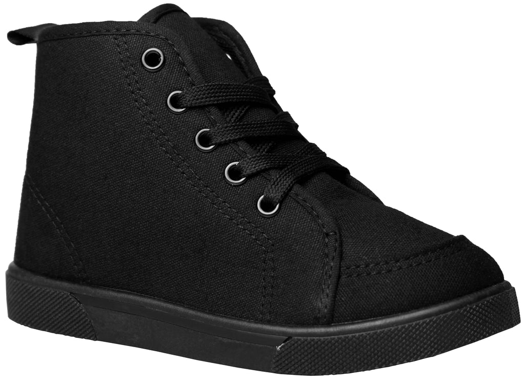 Black/Black High Top New Classic Shoes