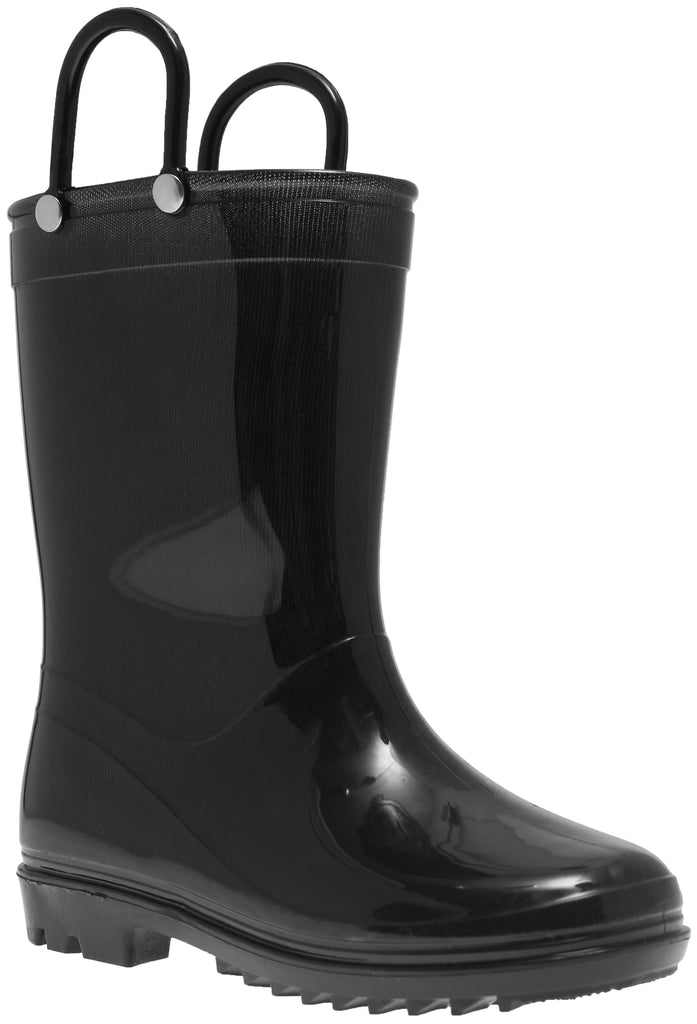 Black Pvc Rainboot