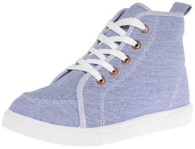 Blue Chambray High Top