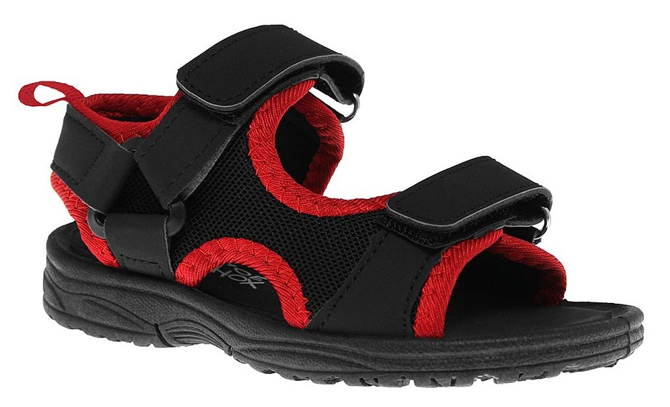 Black Mesh Active Sandal