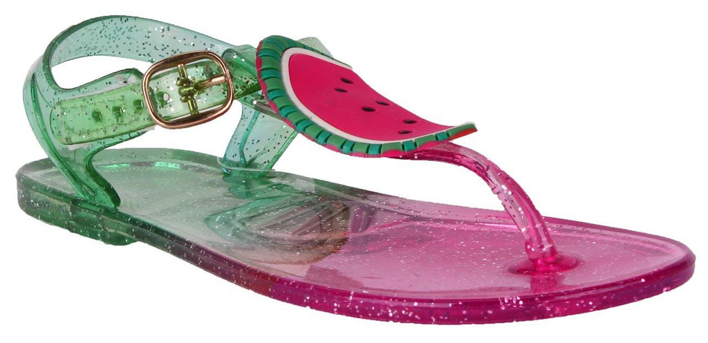 Glitter Watermelon Jelly Sandal