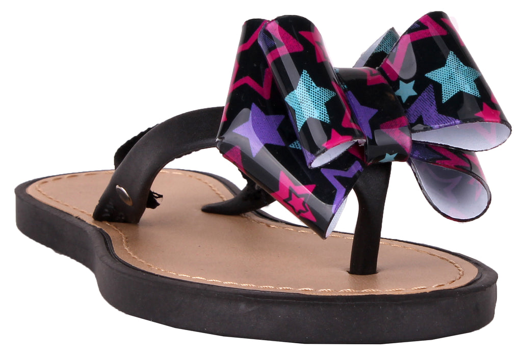Colorful Stars Bow Flat