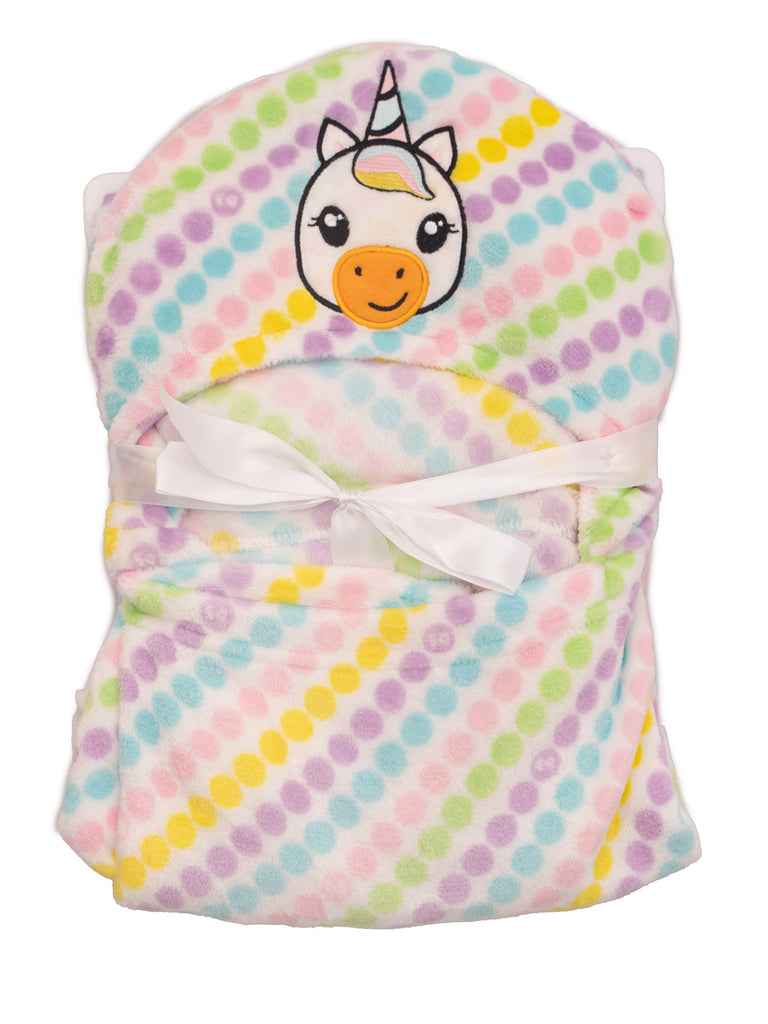 NEWBORN GIRLS 3D TOWEL