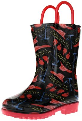 Fireman PVC Rainboot