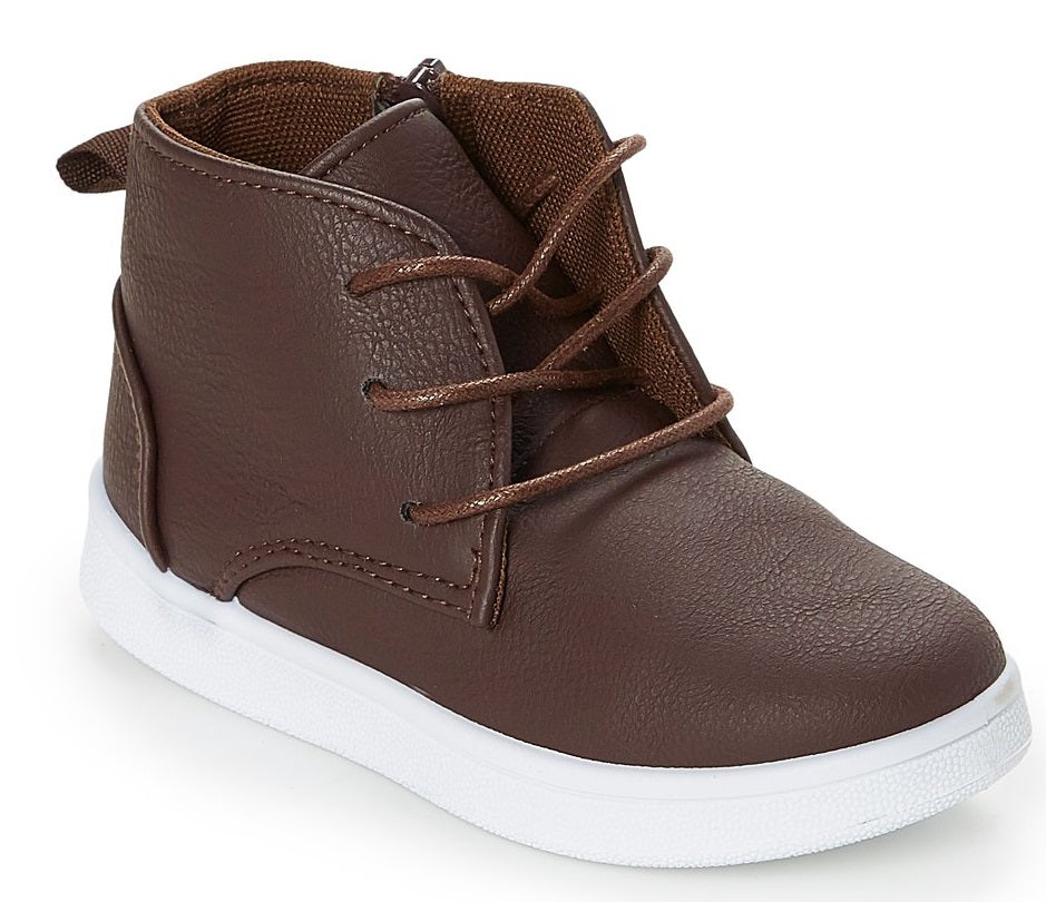 Brown PU High Top