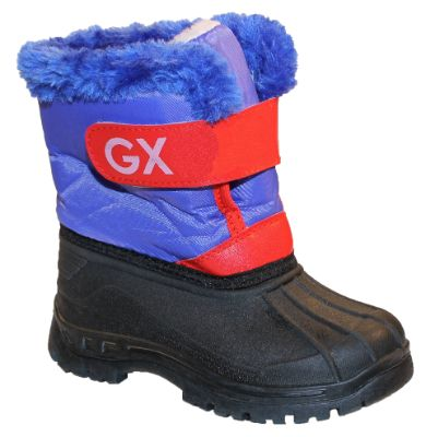 Blue And Red Snowboots