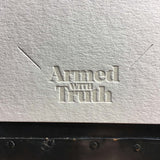 Armed With Truth Card