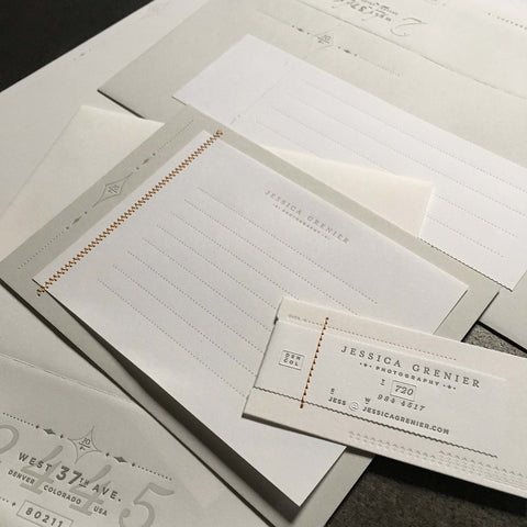 Jessica Grenier Photography Stationery
