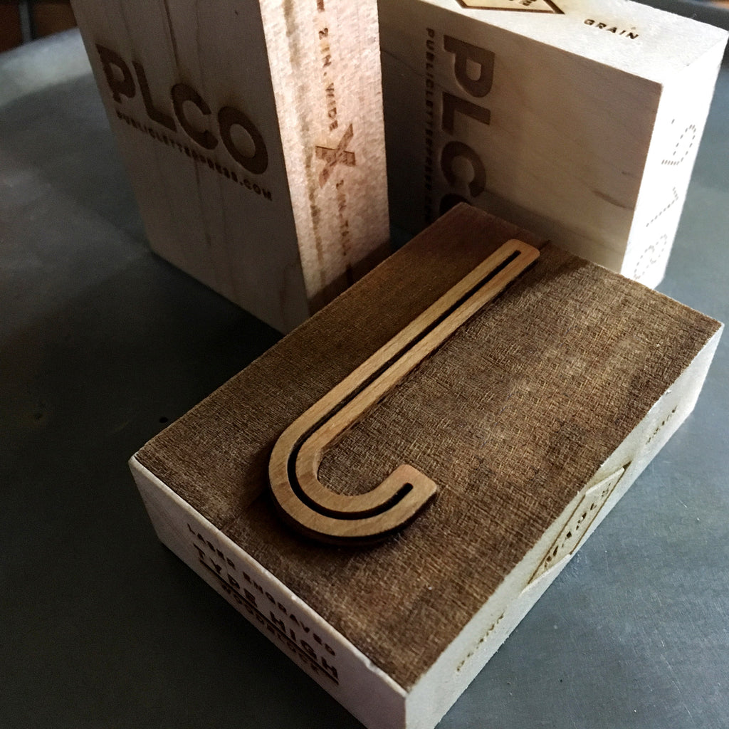 Wood Type blocks