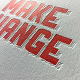 Make Change Card